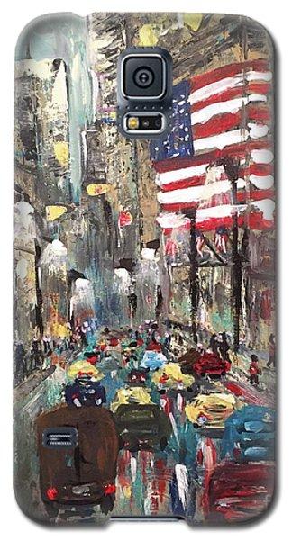 wall street NY Galaxy S5 Case