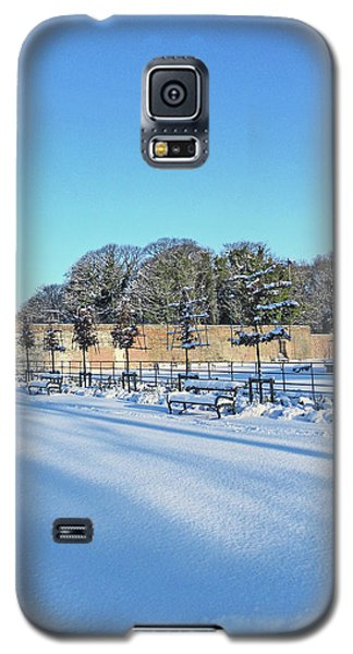 Walled Garden Winter Landscape Galaxy S5 Case