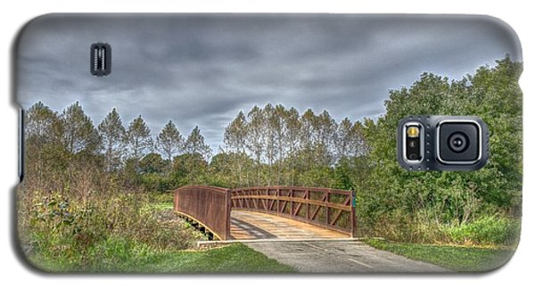 Walnut Woods Bridge - 2 Galaxy S5 Case