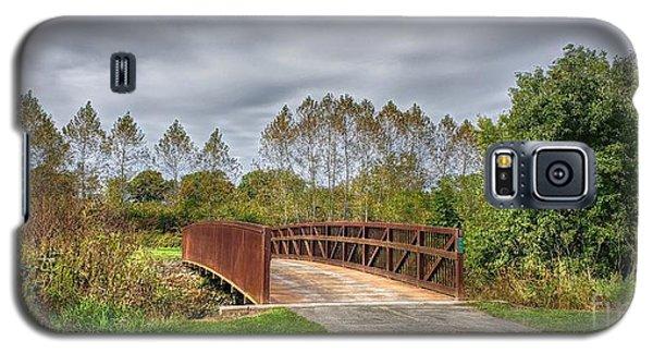 Walnut Woods Bridge - 3 Galaxy S5 Case