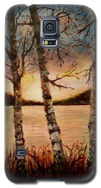Warm Fall Day Galaxy S5 Case
