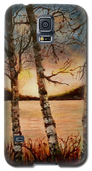 Warm Fall Day Galaxy S5 Case