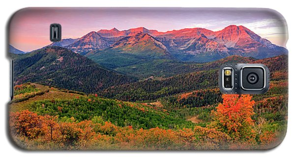 Wasatch Back Autumn Morning Galaxy S5 Case