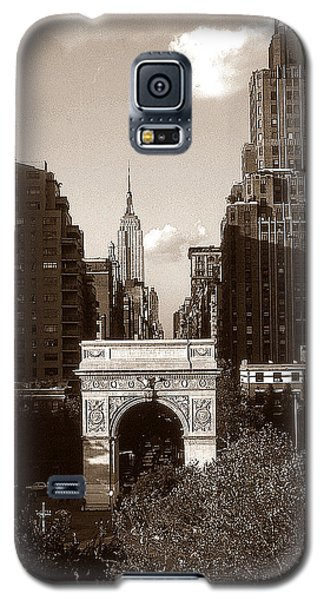 Washington Arch And New York University - Vintage Photo Art Galaxy S5 Case