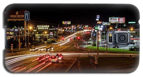 Washington Road At Night - Augusta Ga Galaxy S5 Case