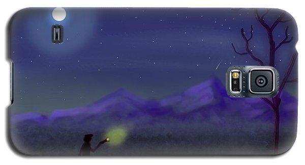 Watching Shooting Stars Galaxy S5 Case