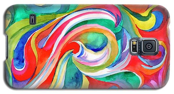 Watercolor's Swirl Galaxy S5 Case