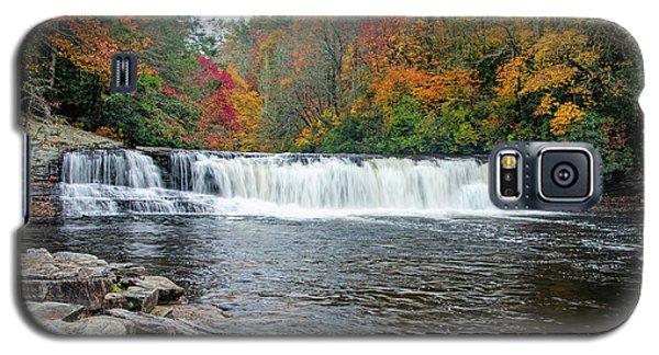 Waterfall In Autumn Galaxy S5 Case