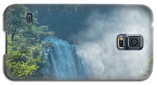 Waterfall, Sunlight And Mist Galaxy S5 Case