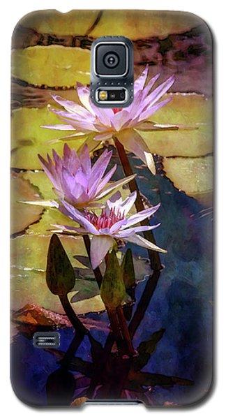 Waterlily Bouquet 2922 Idp_6 Galaxy S5 Case