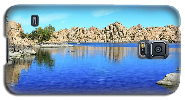 Watson Lake And Rock Formations Galaxy S5 Case