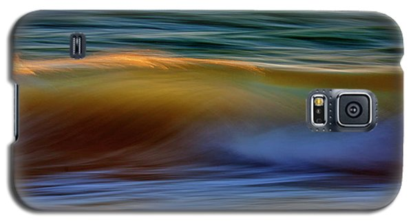 Wave Abstact Galaxy S5 Case