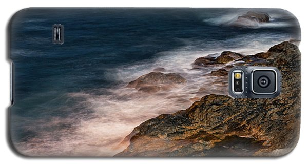 Waves And Rocks At Sozopol Town Galaxy S5 Case