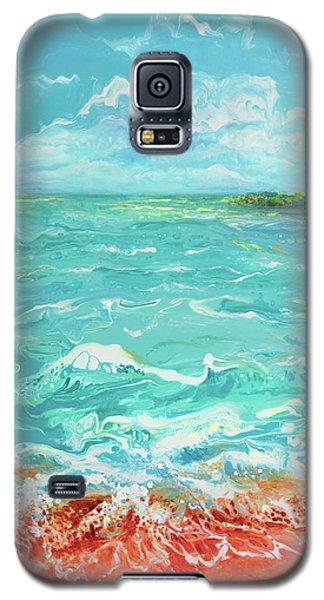 Waves At Sombrero Beach Galaxy S5 Case