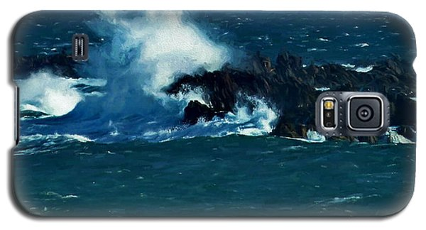 Waves On The Rocks Galaxy S5 Case