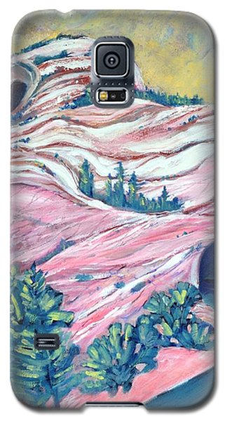 Wavy Rocks Galaxy S5 Case