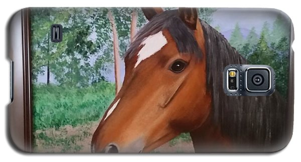 Wayne's Horse Galaxy S5 Case