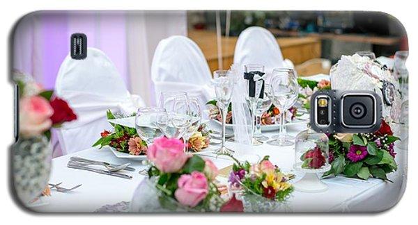 Wedding Table Galaxy S5 Case