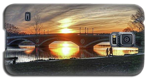 Weeks Bridge At Sunset Galaxy S5 Case