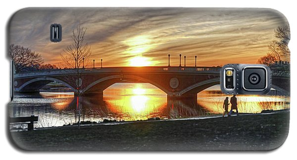 Weeks Bridge At Sunset Galaxy S5 Case