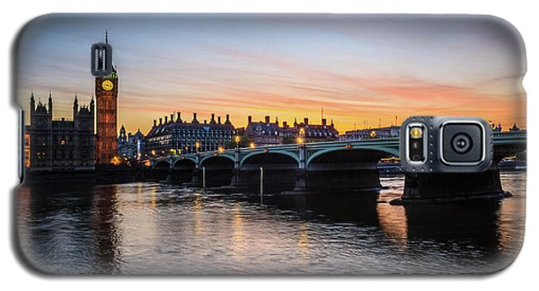 Westminster Sunset Galaxy S5 Case