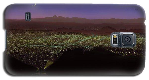 When Tucson's Lights Flicker On Galaxy S5 Case