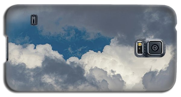 White And Gray Clouds Galaxy S5 Case