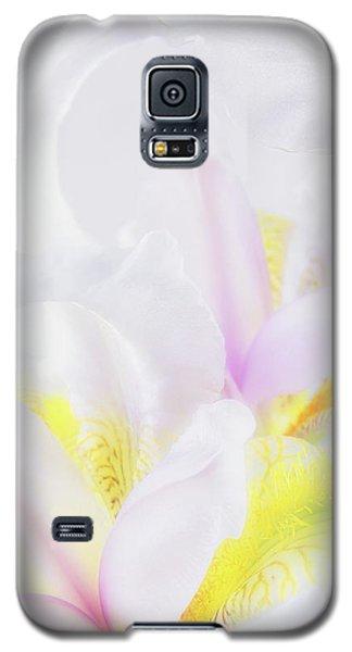 White Iris Galaxy S5 Case