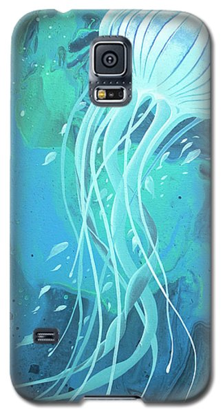 White Jellyfish Galaxy S5 Case