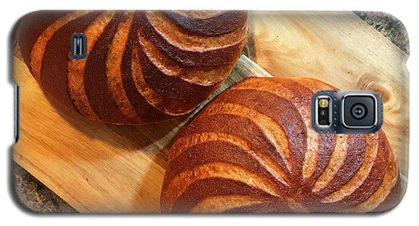 Whole Wheat Sourdough Swirls Galaxy S5 Case