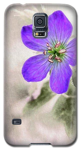 Wild Geranium Galaxy S5 Case