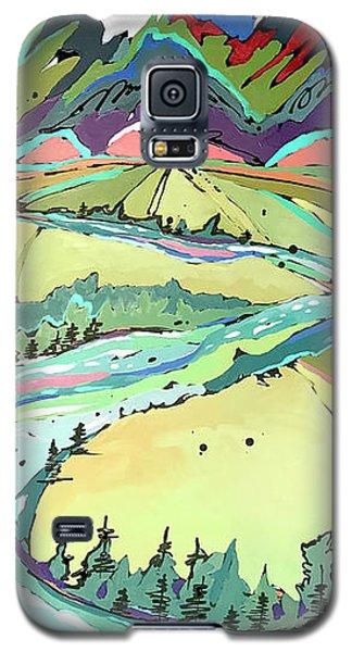 Winding Galaxy S5 Case