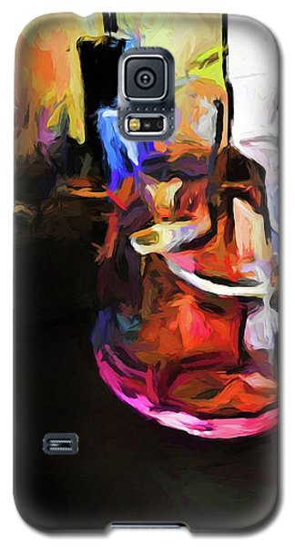 Wine Glass With Pink Wine Galaxy S5 Case
