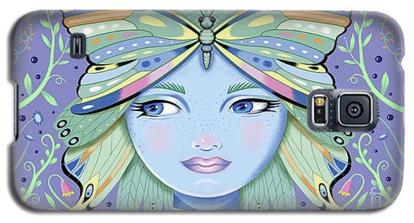 Insect Girl, Winga - Purple Galaxy S5 Case