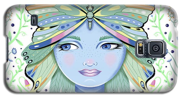 Insect Girl, Winga - White Galaxy S5 Case