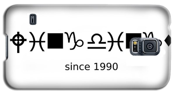 Wingdings Since 1990 - Black Galaxy S5 Case