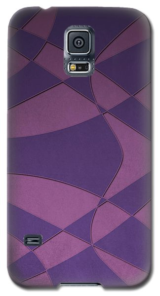 Wings And Sails - Purple And Pink Galaxy S5 Case