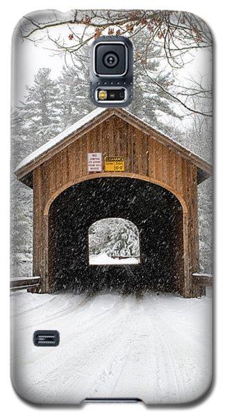 Winter At Babb's Bridge Galaxy S5 Case