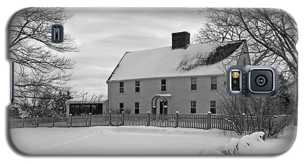 Winter At Noyes House Galaxy S5 Case