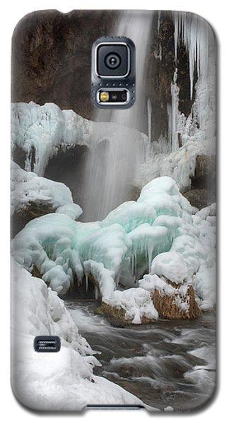 Winter At Rifle Falls Colorado Galaxy S5 Case