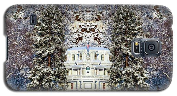 Winter At The Susanville Elks Lodge Galaxy S5 Case