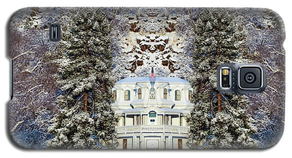 Winter At The Susanville Elks Lodge Galaxy S5 Case