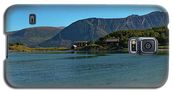 Winter Beach In Norway Galaxy S5 Case
