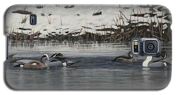 Winter Flock Galaxy S5 Case