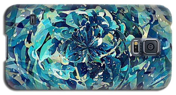 Winter Floral Galaxy S5 Case