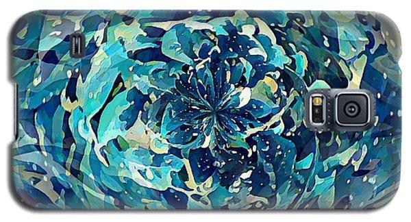 Winter Floral Galaxy S5 Case