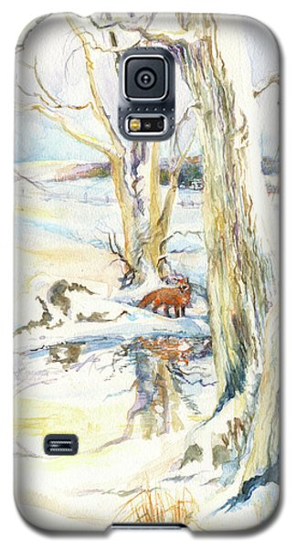 Winter Fox Galaxy S5 Case
