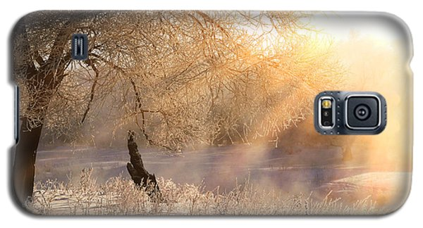 Icy Galaxy S5 Case - Winter Landscape Frosty Day On The by Vladimir Salman