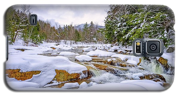 Winter On The Swift River. Galaxy S5 Case