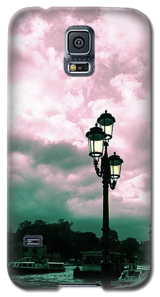 Winter Venice Lantern On The Embankment Galaxy S5 Case